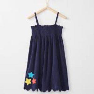 Hanna Andersson Sunsoft Terry Applique Dress